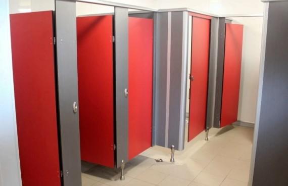 Cubicle Toilet - Aplikator Surabaya