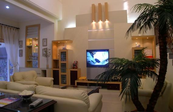 Bufet TV ruang keluarga