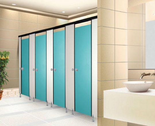 Phenolic Cubicle Toilet