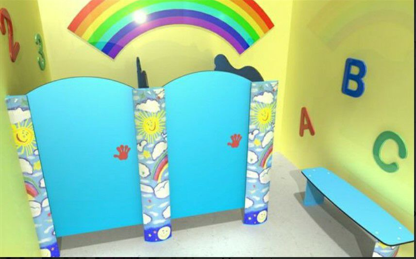 PartitionToiletcubiclekid1