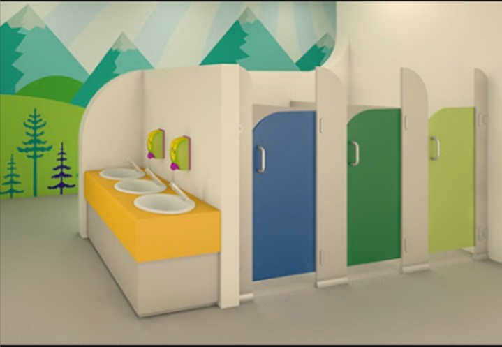 PartitionToiletcubiclekid7