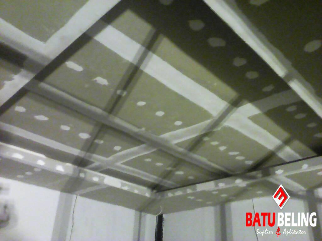 Pemasangan Plafon di KenPark - Surabaya