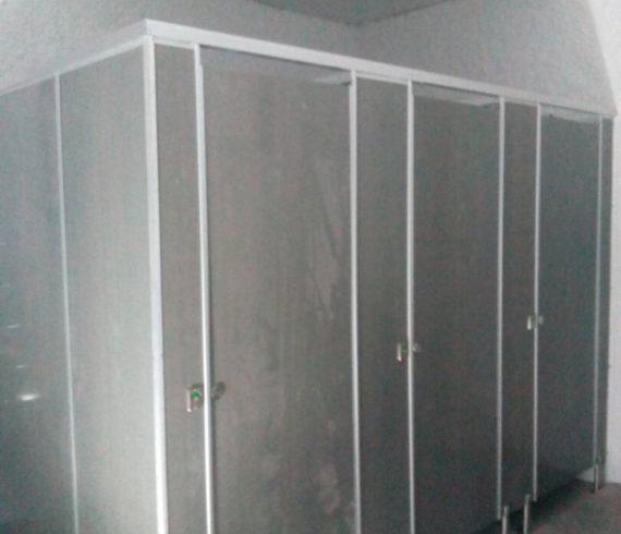 Cubicle Toilet PVC Board Tol Jombang Tahap IV