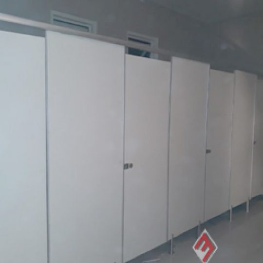 7 Unit Cubicle Toilet Phenolic Resin