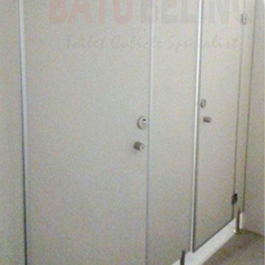 Partisi Toilet - Material PVC Foam Board - Malang
