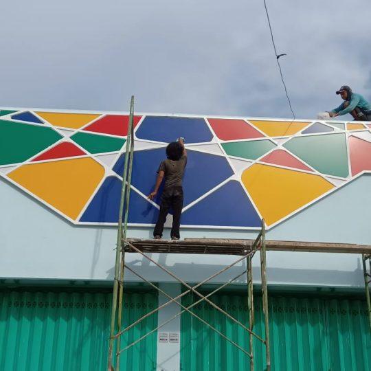 Pemasangan ACP di Driyorejo Gresik